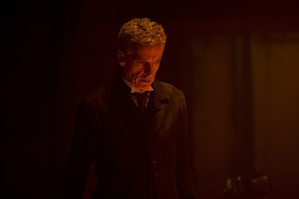 Doctor Who (Peter Capaldi) standing alone