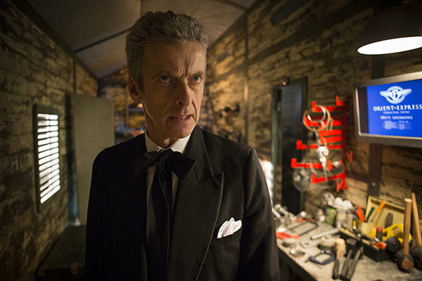 Doctor Who (Peter Capaldi) in Mummy On The Orient Express
