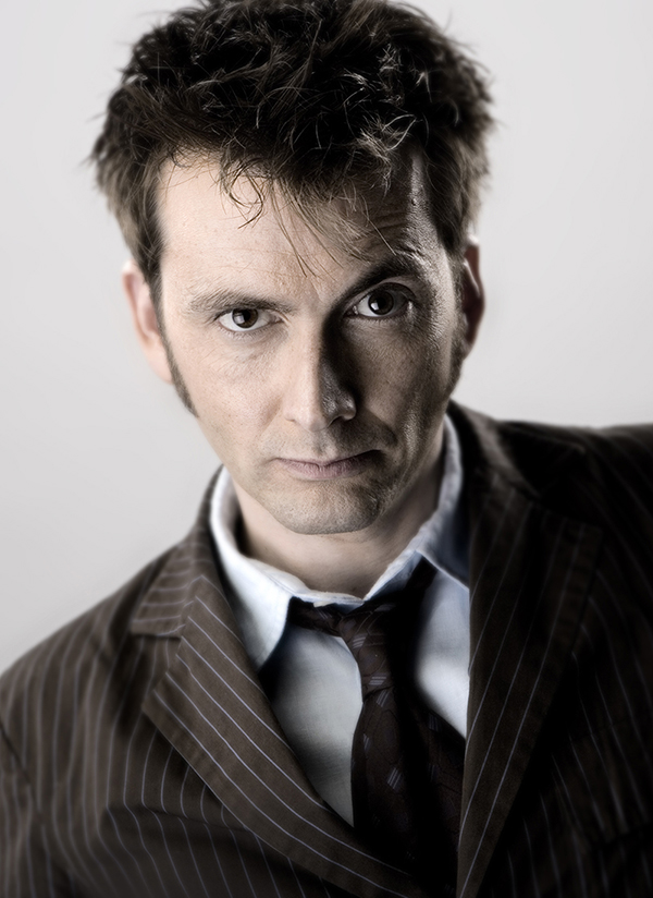 Portait of David Tennant as Doctor Who