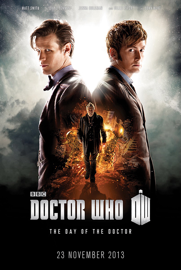 The Day Of The Doctor poster