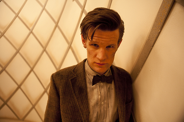 The Doctor (Matt Smith) in padded cell from episode Asylum Of The Daleks