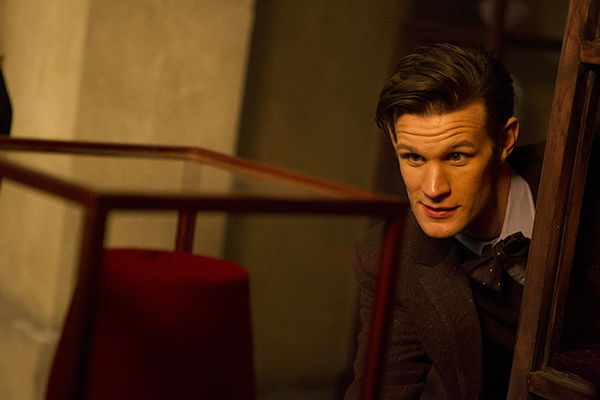 The Doctor (Matt Smith) finds his fez