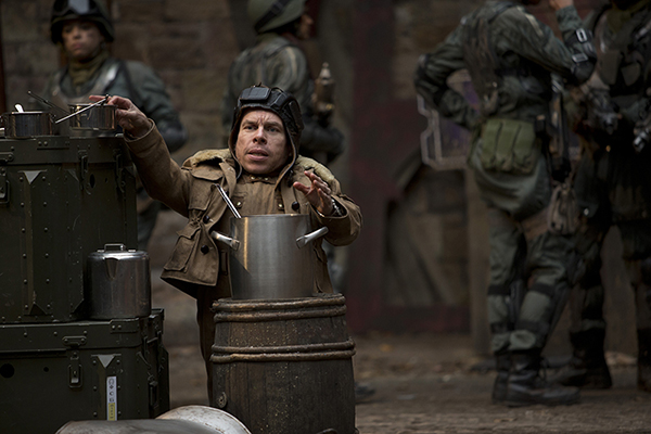 Porridge played by Warwick Davis outdoors from Doctor Who episode Nightmare In Silver