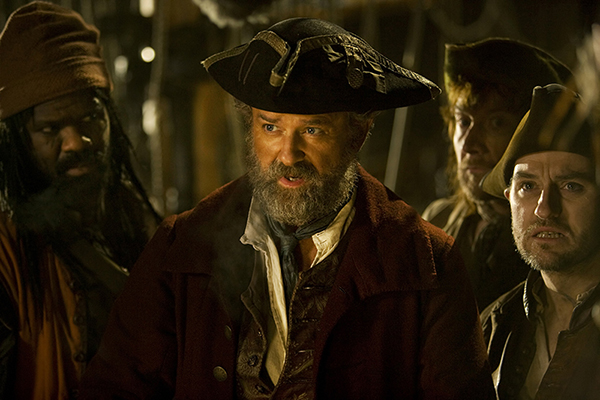 film still from Doctor Who - Captain Avery (Hugh Bonneville)