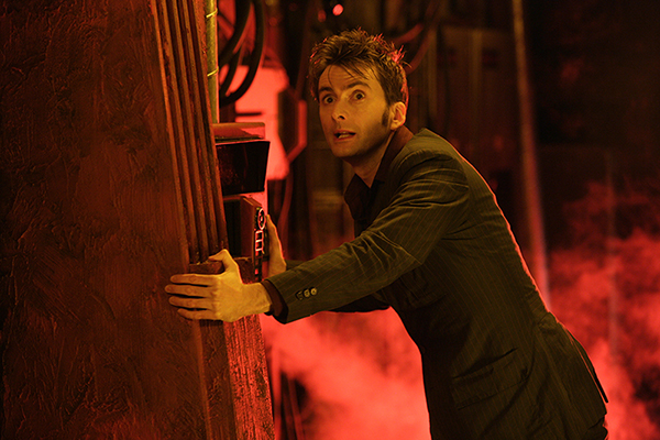 unit stills photo of David tennant as The Doctor